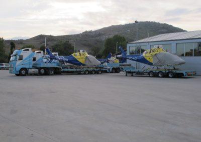 Cepelludo transporte helicópteros 1