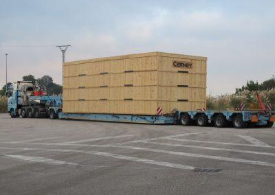Cepelludo transporte piezas 9