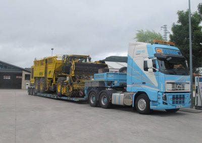 Cepelludo transporte vehículo industrial 26