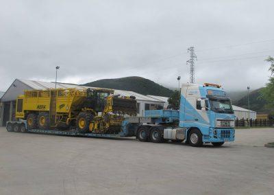 Cepelludo transporte vehículo industrial 25