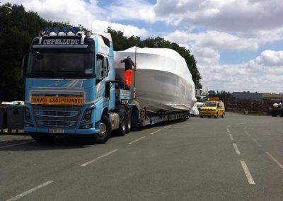 Cepelludo transporte barco 15