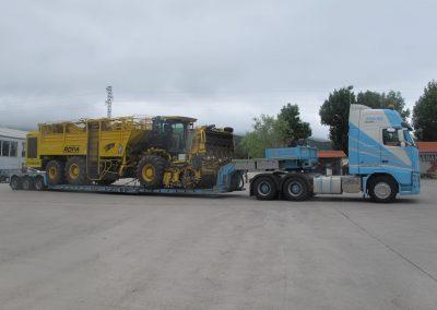 Cepelludo transporte vehículo industrial 22