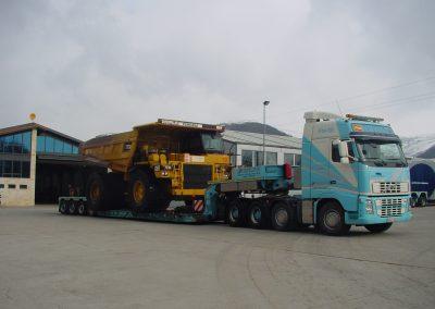 Cepelludo transporte vehículo industrial 12