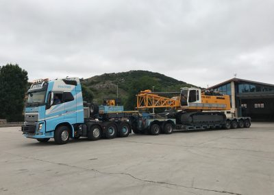 Cepelludo transporte vehículo industrial 7