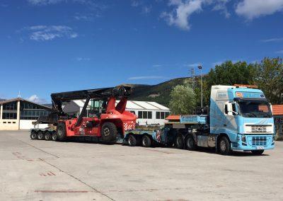 Cepelludo transporte vehículo industrial 5