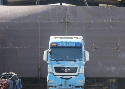 Cepelludo transporte piezas 1
