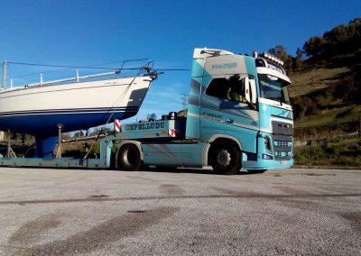 Cepelludo transporte barco 8