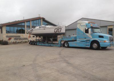 Cepelludo transporte barco 6