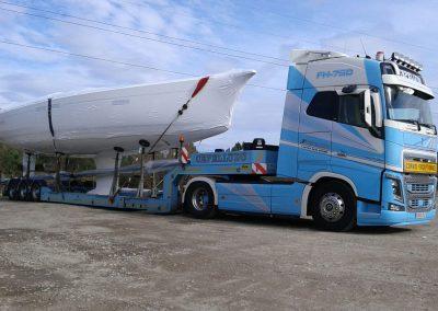 Cepelludo transporte barco 5