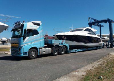 Cepelludo transporte barco 33