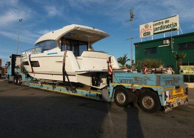 Cepelludo transporte barco 32
