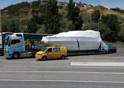 Cepelludo transporte barco 31