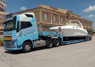Cepelludo transporte barco 26