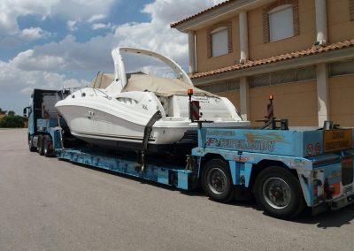 Cepelludo transporte barco 25