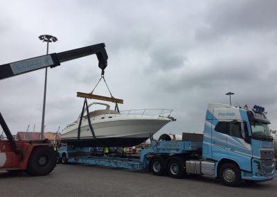 Cepelludo transporte barco 24