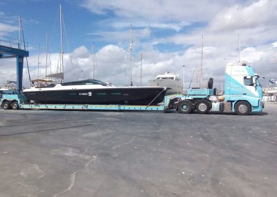 Cepelludo transporte barco 18